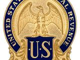 Image of the badge for the Prohibition Unit, Bureau of Internal Revenue, U.S. Department of Treasury 1920-1926