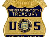 Image of the badge for the Bureau of Alcohol, Tobacco and Firearms, U.S. Department of the Treasury 1972-2002