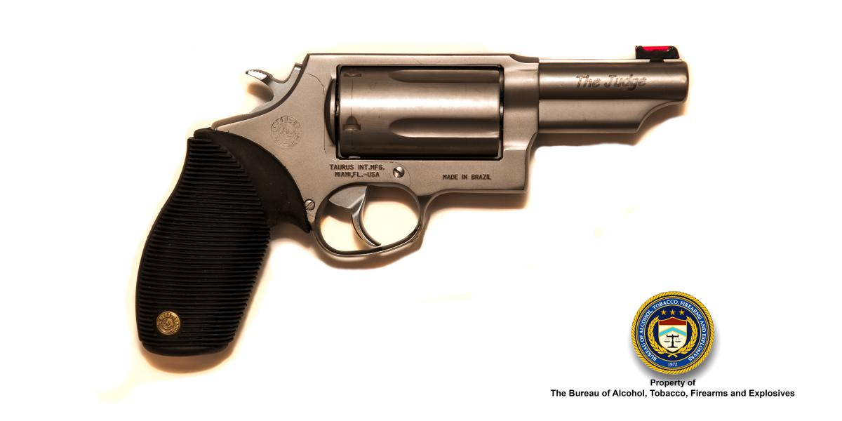 Picture of Taurus The Judge Caliber: .410 Cal. / .45 Cal