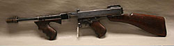 Picture of a Thompson Submachine Gun, .45cal