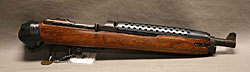 Image of a weapon made from rifle