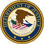 Sello del Departamento de Justicia