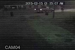 ATF and Mobile Fire Department looking for suspect in firebombing case - getaway truck.