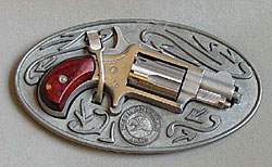 Image of a belt buckle holster