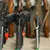 Image of guns at the national lab