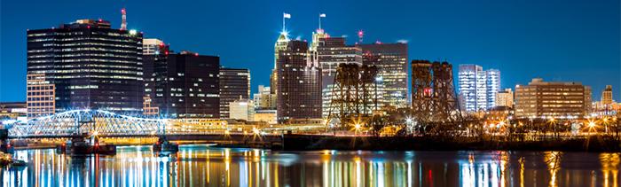 Image of Newark, New Jersy's skyline