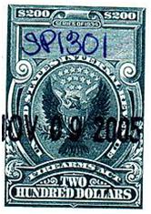 Image of a national firearms act stamp