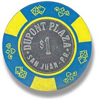 Picture of Dupont Plaza Poker Chip