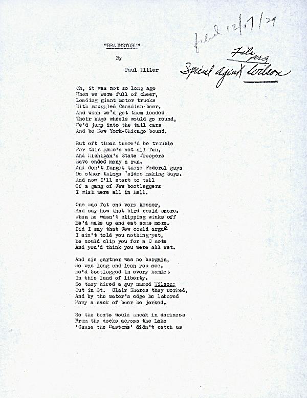 Image of poem titled Brainstorm, by Paul Miller