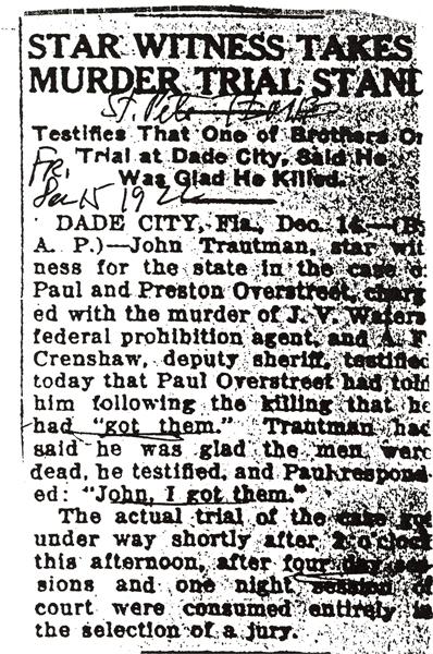Newspaper article regardingJohn Waters