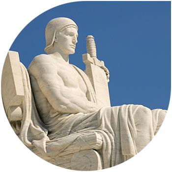 Image of the U.S. supreme court