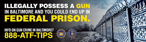 Image of Public Safety Billboard for Baltimore