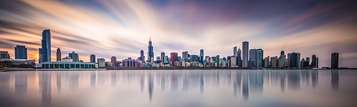Image of the Chicago skyline