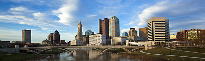 Image of the Columbus Ohio skyline