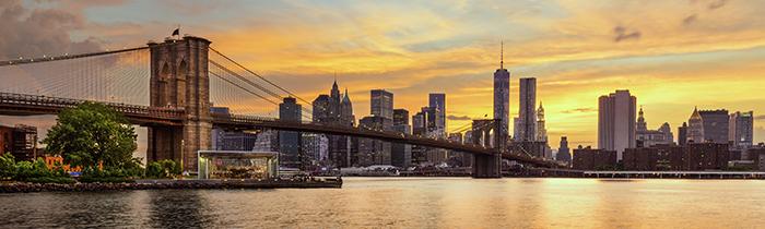 Imagen de la línea del horizonte de Nueva York