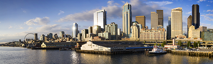 Image of the Seattle Washington Skyline