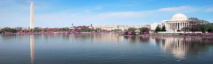 Imagen de la línea del horizonte de Washington DC