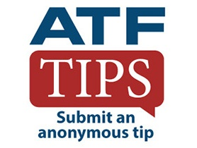 Logo for ATF Tips - Submit an anonymous tips app