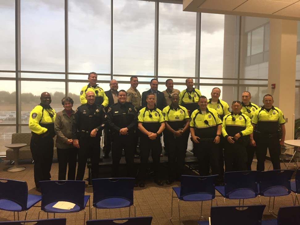 Law Enforcement Officers brecognized for excellence in Community Policing in Boise, Idaho.