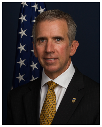 Official photo of ATF Houston Special Agent in Charge Fred Milanowski