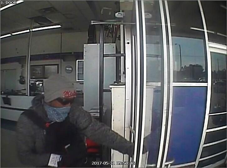 Cash America Robbery - Suspect Picture 1