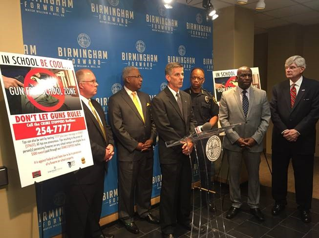 Mayor's Office Partners with ATF, BPD and Crime Stoppers to Keep Guns out of Schools