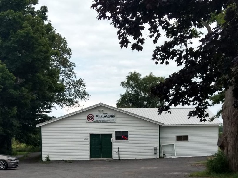Image of the Gun Works of Central New York store located in Verona, New York
