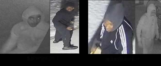 Photo of male suspects wanted for FFL burglaries