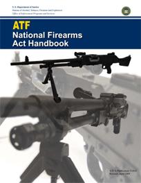 Portada del Manual de la Ley Nacional de Armas de Fuego