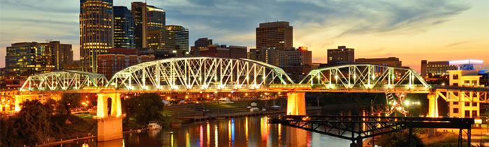 Image of Nashville's Shelby Street Bridge