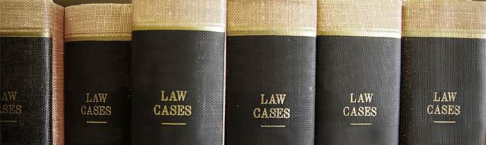 Image of a row of legal books