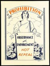 Image of a prohibition poster