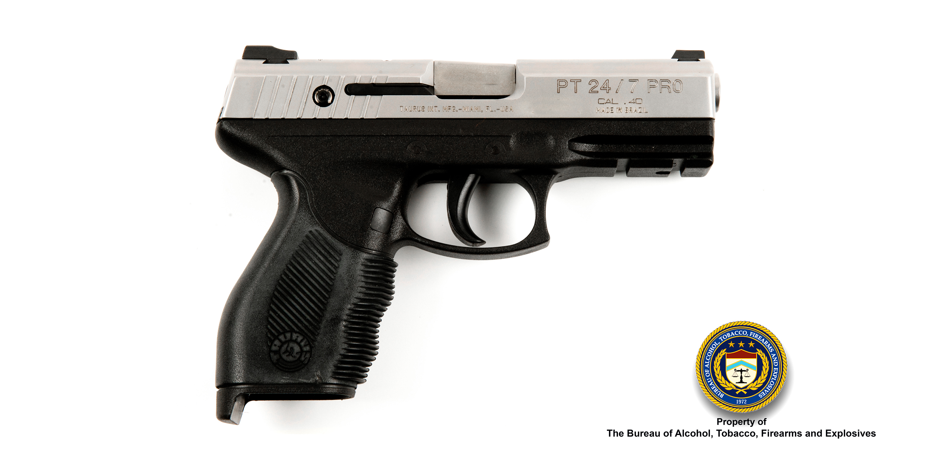 Pistols Bureau of Alcohol Tobacco Firearms and Explosives